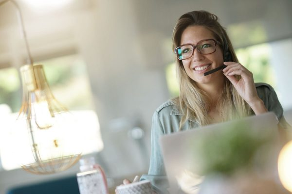 Work from home customer support best female agent quality support